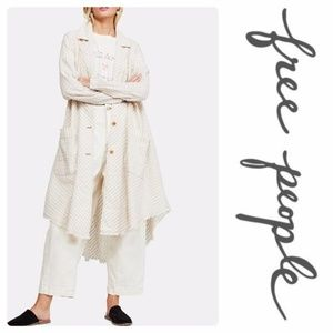 NWT FREE PEOPLE Let's Just Cruise Duster